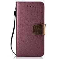 Voor huawei p9 lite p8 lite pu leren materiaal zijde kleur telefoon hoesje