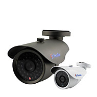 yanse® 1000tvl 8mm 금속 알루미늄 D / n 개의 cctv 카메라 적외선 (36)는 보안 방수 유선 f278cf 주도