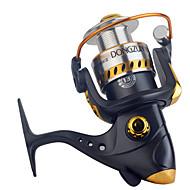 Carrete de la pesca Carretes para pesca spinning 2.6:1 13 Rodamientos de bolas Intercambiable Pesca en General-DF3000