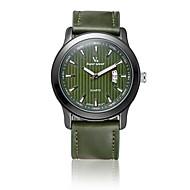 V6 Muškarci Modni sat Kvarc / PU Grupa Neformalno Crna Smeđa Zelena Crn Braon Arm Green