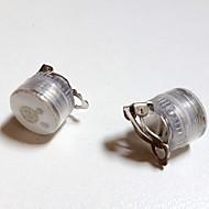 μοναδικό σχεδιασμό οδήγησε σκουλαρίκια φως ανάβει bling αξεσουάρ καρφιά αυτί χορό κόμμα για το χορό κορίτσι κόμμα μπαρ