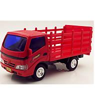 Camion Veicoli a molla Giocattoli Car 1:25 Plastica Metallo Rosso Modellino e gioco di costruzione