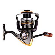 Carrete de la pesca Carretes para pesca spinning 2.6:1 11 Rodamientos de bolas Intercambiable Pesca en General-DA2000