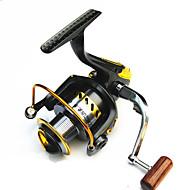 Carrete de la pesca Carretes para pesca spinning 2.6:1 8.0 Rodamientos de bolas Intercambiable Pesca en General-LF3000