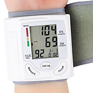 sjukvård handleden bärbar digital automatisk blodtrycksmätare