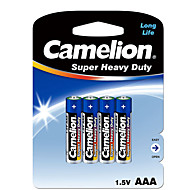 Camelion Camelion aaa carbon zink batteri 1.5V 4 stk