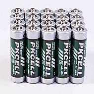 Pkcell R03P AA Carbon Zinc Battery 1.5V 20 Pack Super Heavey Duty
