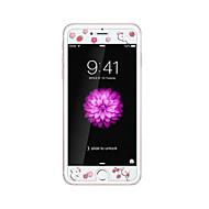 iPhone 6 / 6s plus 5.5inch karkaistu lasi läpinäkyvä edessä näytön suojakalvon kanssa emboss piirretty kuvio loistaa pimeässä kanin