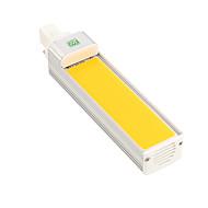 YWXLight® G24 COB 12W 1050-1200LM Cool White Warm White LED Corn Light Horizontal Plug Light (AC 85-265V)