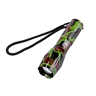 U'King ZQ-X1061GC CREE XML T6 2000LM Camouflage 5Mode SOS Zoomable Flashlight Torch
