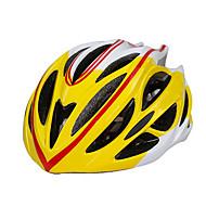 スポーツ 男女兼用 バイク ヘルメット 27 通気孔 サイクリング サイクリング マウンテンサイクリング ロードバイク レクリエーションサイクリング 登山 ハイキング PC EPS イエロー レッド ブラック ブルー