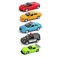 Race Car Vehicle Playsets Car Toys 1:64 Metal Plastic Rainbow Model & Building Toy