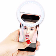 Universal Luxury Smart Phone LED Flash Light Up Selfie Luminous Phone Ring for IPhone SE 7 6S Plus Samsung S7 S6 Edge HTC LG HTC