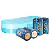 Fenglan R20P d carbon zink batteri 1.5V 4 stk