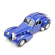 Classic Car Toys Car Toys 1:28 Metal Plastic Blue Model & Building Toy