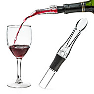 1Pc Acrylic Aerating Pourer Decanter Wine Aerator Spout Pourer New Portable Wine Aerator Pourer Wine Accessories