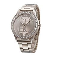 Women's Fashion Watch Simulated Diamond Watch Imitation Diamond Quartz Stainless Steel Band Charm Casual Silver Gold Rose Gold