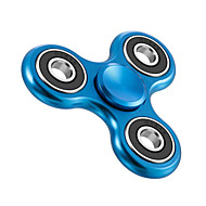 Håndspinnere Hånd Spinner Legetøj Tri-Spinner Metal Aluminium EDCLindrer ADD, ADHD, angst, autisme til Killing Time Focus Toy Stress og