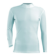 Tops(Blanco Gris Azul) - deGolf Deportes recreativos-Transpirable- deMangas largas