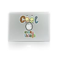 1 kpl Naarmunkestävä Koira Läpinäkyvä muovi Tarrakalvo Hohtaa pimeässä Kuviointi VartenMacBook Pro 15'' with Retina MacBook Pro 15 ''