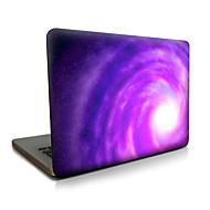 Für Macbook Luft 11 13 / pro13 15 / pro mit retina13 15 / macbook12 lila Whirlpool beschrieb Apfel Laptop Fall