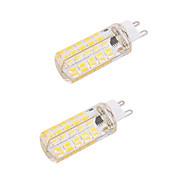 4W G9 E26/E27 LED 콘 조명 T 80 SMD 5730 400 lm 따뜻한 화이트 차가운 화이트 밝기 조절 장식 AC 220-240 AC 110-130 V 2개