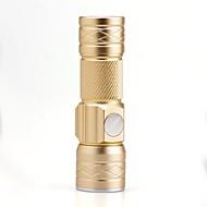 Linternas LED LED Lumens 3 Modo Cree XP-E R2 Enfoque Ajustable Recargable Tamaño Compacto Tamaño PequeñoCamping/Senderismo/Cuevas De Uso