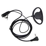 d tyyppi HF PTT 1 pin FBI korvakoukku kuuloketta Motorola kannettava kinkku radio HF TLKR t3 t4 t60 t80 mr350r radiopuhelin
