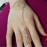 Žene Klasično prstenje Cvjetni print kostim nakit Legura Flower Shape Jewelry Za Party Dnevno Kauzalni