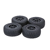 Obecné RC Tires Pneumatika RC auta / Buggy / Trucks Černá Guma pet Plast 4KS