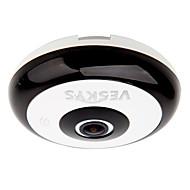 360度のHDフルビューIPネットワークセキュリティのwifiカメラ1.3MPの魚眼レンズveskys®