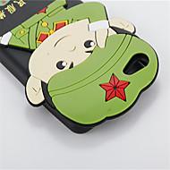 For Stødsikker Etui Bagcover Etui 3D-tegneserie Blødt Silikone for Vivo Vivo X6 Vivo X6 Plus
