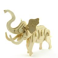 Jigsaw Puzzle 3D építőjátékok Építőkockák DIY játékok Elefánt Fa