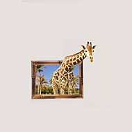 植物の フローラル柄 風景画 ウォールステッカー プレーン・ウォールステッカー 3D ウォールステッカー 飾りウォールステッカー 写真ステッカー,ビニール ペーパー 材料 ホームデコレーション ウォールステッカー・壁用シール