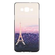 Varten kotelot kuoret Kuvio Takakuori Etui Eiffelin torni Pehmeä TPU varten Samsung A7 A5