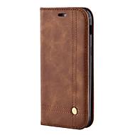 삼성 갤럭시 a3 a5 (2017) 케이스 커버 클래식 레트로 오일 스킨 카드 스텐 트 지갑 유형의 전화 케이스