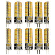 3W G4 LED betűzős izzók T 72 SMD 5730 350 lm Meleg fehér Hideg fehér Dekoratív V 10 db.
