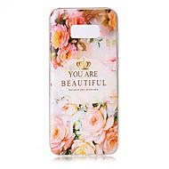 Για Θήκες Καλύμματα Διαφανής Ανάγλυφη Με σχέδια Πίσω Κάλυμμα tok Λέξη / Φράση Λουλούδι Μαλακή TPU για Samsung S8 S8 Plus S7 edge S7