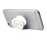 Stojan/Držák na mobil Stůl Rotace o 360° Nastavitelný stojan Polykarbonát for Mobilní telefon