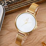 SK Damen Modeuhr Armband-Uhr Einzigartige kreative Uhr Japanisch Quartz Wasserdicht Schockresistent Metall Legierung BandVintage