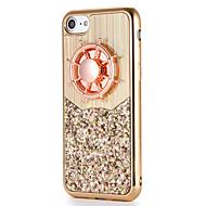 Fidget Spinner Case For Apple iPhone 7 7 Plus 6s 6 Plus Case Cover DIY Back Cover Case Glitter Shine Soft TPU for Apple iPhone 6s Plus 6