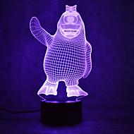 Weihnachten Pinguin Schildkröten berühren Dimmen 3d führte Nachtlicht 7colorful Dekoration Atmosphäre Lampe Neuheit Beleuchtung