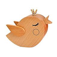 Music Box Ptaszek Artykuły świąteczne Drewno Dla obu płci