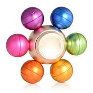 Fidget spinner -stressilelu hand Spinner Hyrrä Lelut Lelut Pyöreä Uutuudet EDCOffice Desk Lelut Lievittää ADD, ADHD, ahdistuneisuus,