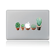1 stk Ridsnings-Sikker Blomster/botanik Transparent plastik Klistermærke Mønster ForMacBook Pro 15'' with Retina MacBook Pro 15 ''