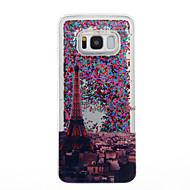 Samsung Galaxy S8 ja s8 puhelimen tapauksessa eiffel kuvio virtaava neste kimallus pehmeä TPU materia s7 reuna s7 s6 reuna s6 s5