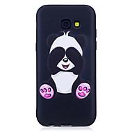Til samsung galaxy a3 (2017) a5 (2017) taske cover panda mønster malet følelse tpu blødt taske etui (2016) a5 (2016)