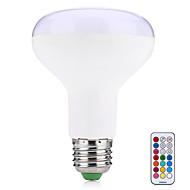 10W Okos LED izzók R80 38 SMD 5050 800 lm Meleg fehér RGB Távvezérlésű Dekoratív V 1 db.