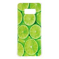 Για Θήκες Καλύμματα Με σχέδια Πίσω Κάλυμμα tok Φρούτα Μαλακή TPU για Samsung S8 S8 Plus S7 edge S7