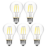 6W Żarówka dekoracyjna LED A60(A19) 6 COB 450 lm Ciepła biel Biały Przysłonięcia V 5 sztuk